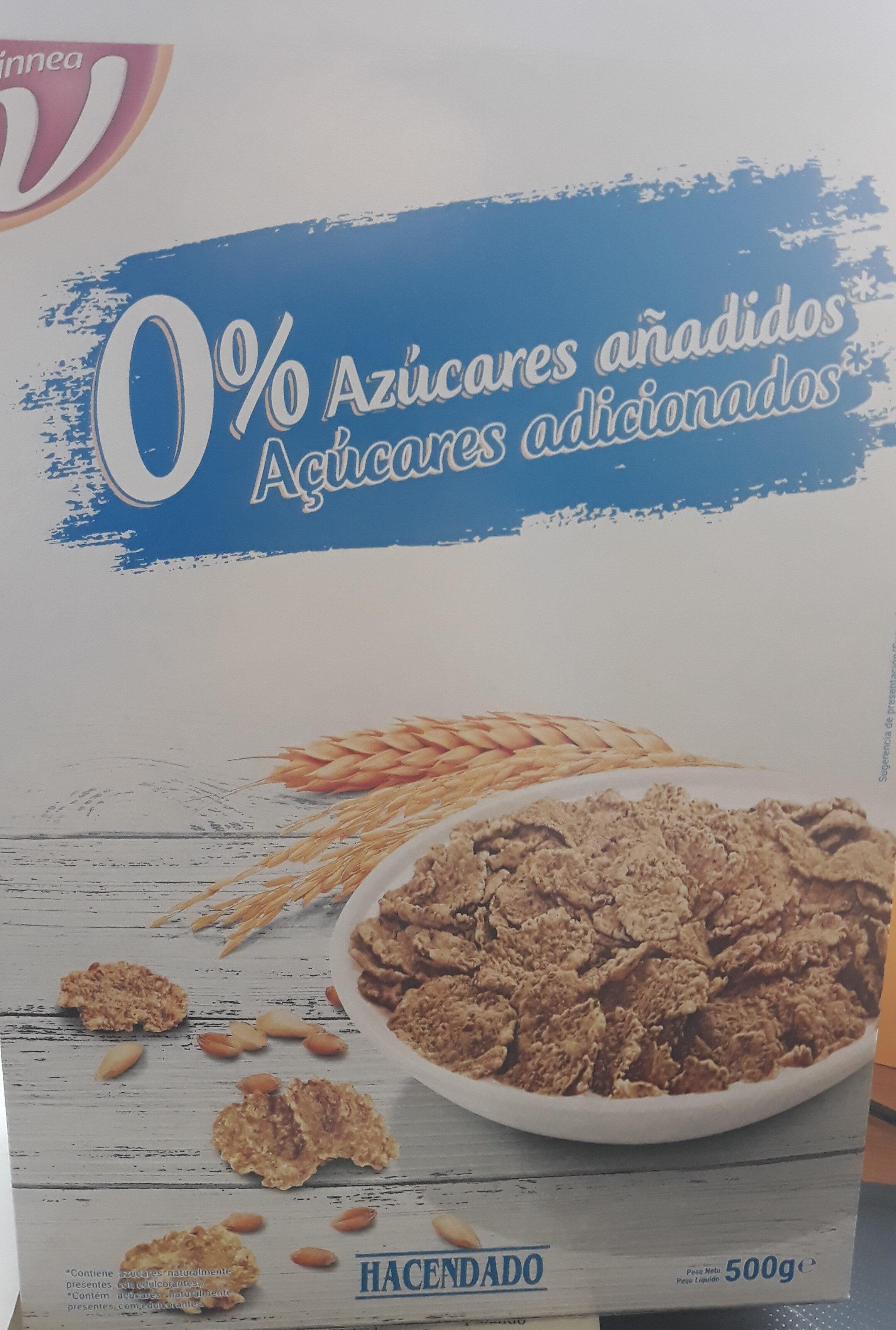 Cereales Trigo Integral Y Arroz Hacendado 500 G